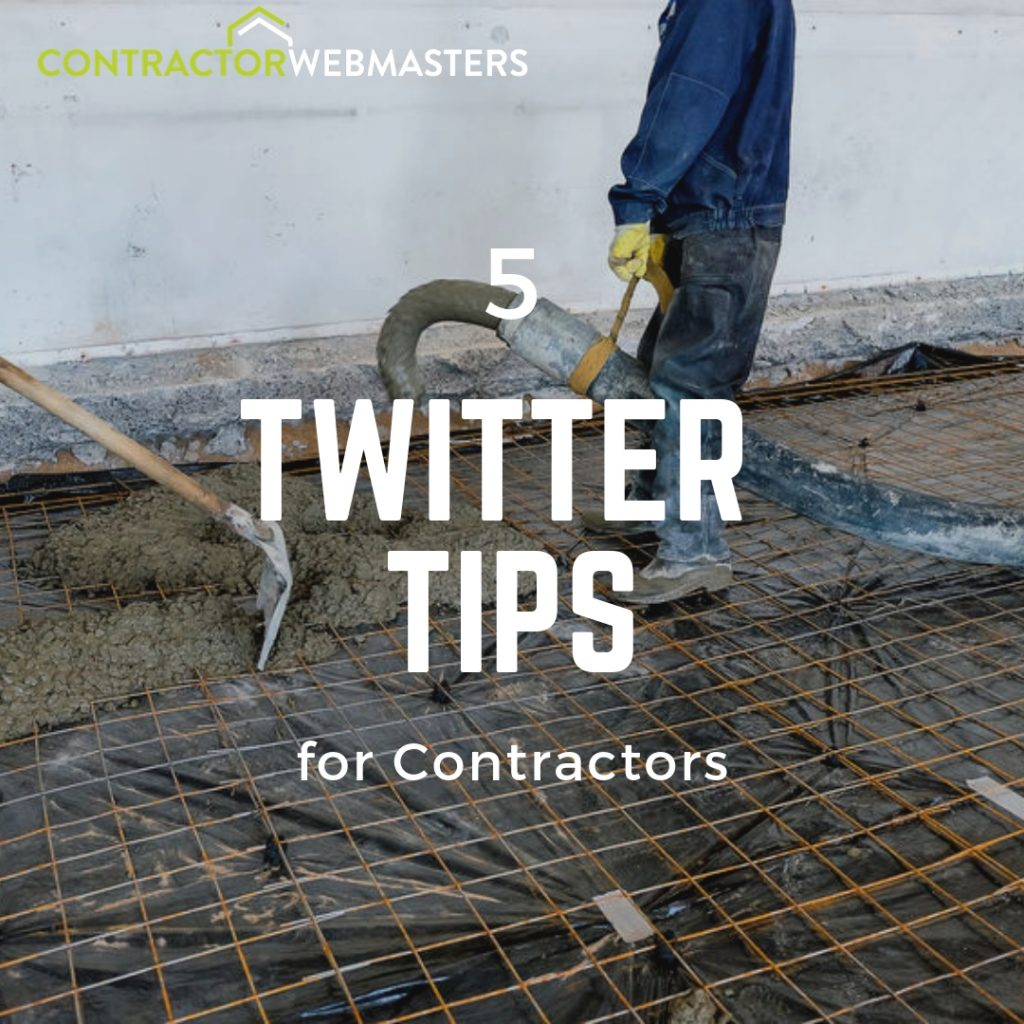 5 Twitter Tips for Contractors Blog Cover