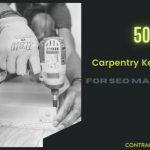 Carpentry Keywords