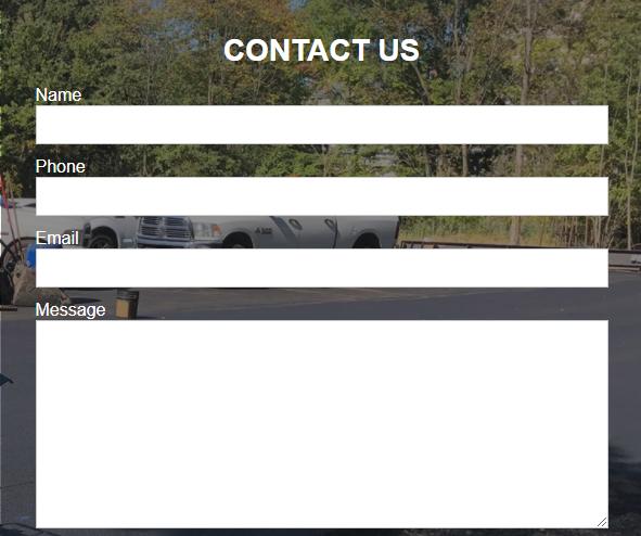 Concrete Paving Online Form