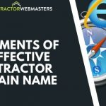 Contractor Domain Name Blog Cover