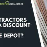 Do Contractors Get a Discount at Home Depot