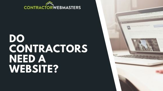 Do Contractors Need a Website (Blog Banner)