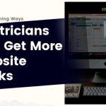Electrician Website Clicks Blog Banner