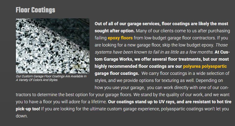 Epoxy Flooring Web Content