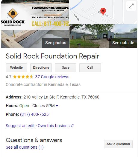 Foundation Repair GMB