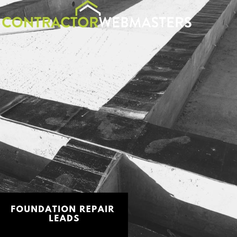 Foundation Repair Leads Graphic