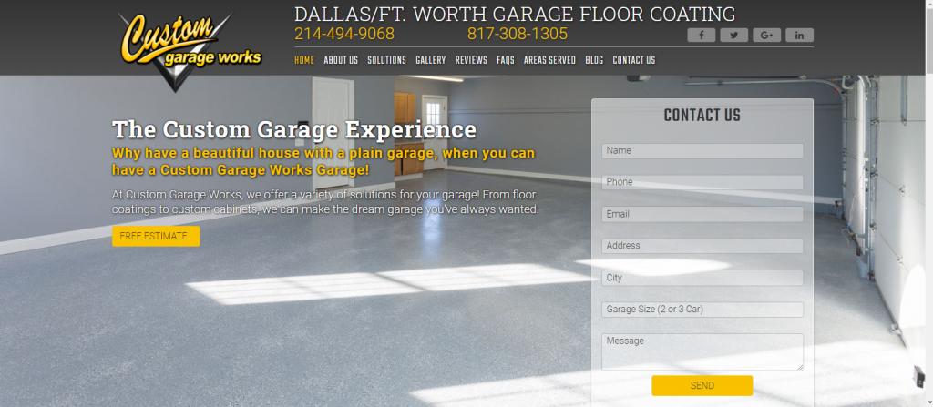 Garage Floor Coating Website