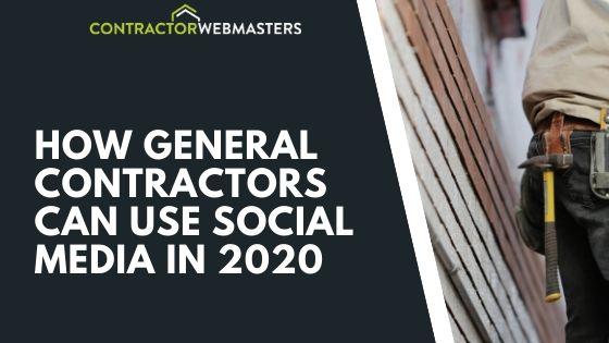 General Contractor Social Media Blog Banner