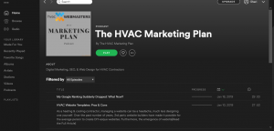 Episode List of HVAC Podcast Show
