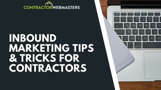 Inbound Marketing Tips for Contractors Blog Banner