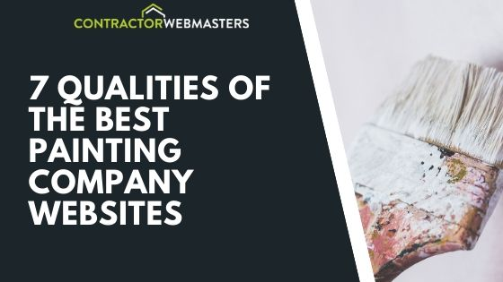 Painting Company Websites Blog Banner