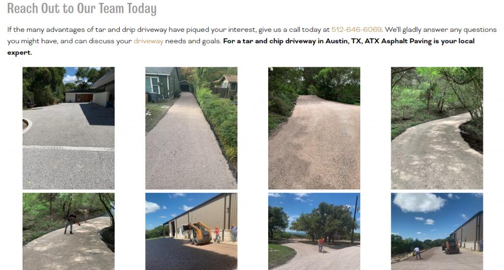 Paving Website Images