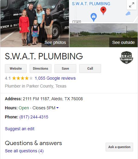 Plumbing Local GMB