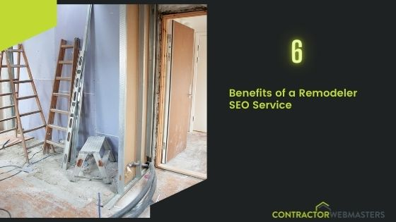 Remodeler SEO Service