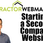 Starting a Second Contractor Website Podcast Card
