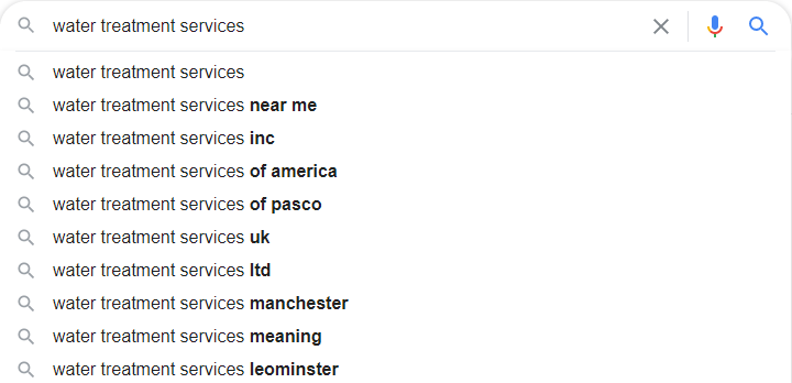 Window Treatment Google Autosuggest