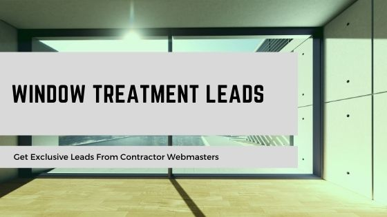 Window Treatment Leads