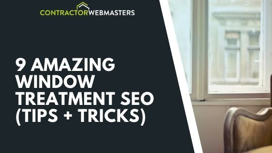 Window Treatment SEO Tips Cover