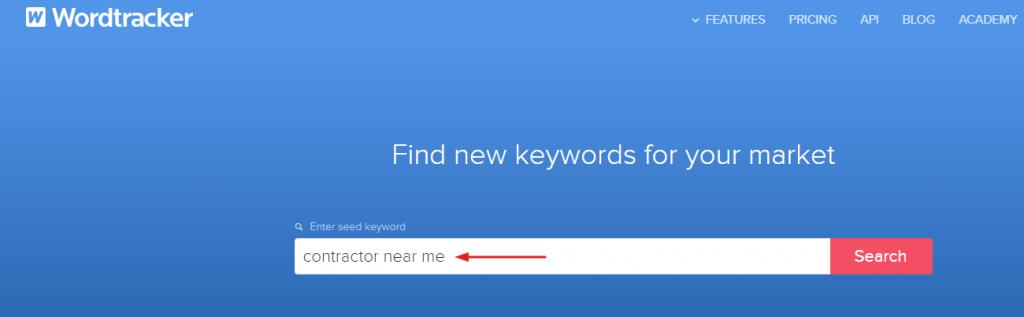 Word Tracker Screenshot